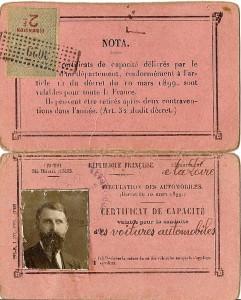 ancien permis de conduire